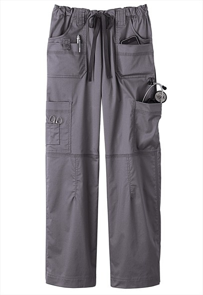 Dickies Generation Flex 9-pocket scrub pants. Bought a pair today and I lurve them. Dickies scrubs rule!