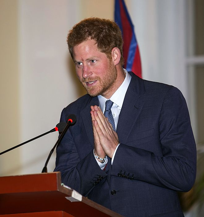 Surprise! Prince Harry is extending his stay in Nepal, March 2016