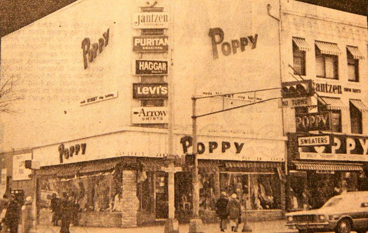 Poppy's Clothing Store in Elizabeth NJ 1970's | Vintage ...