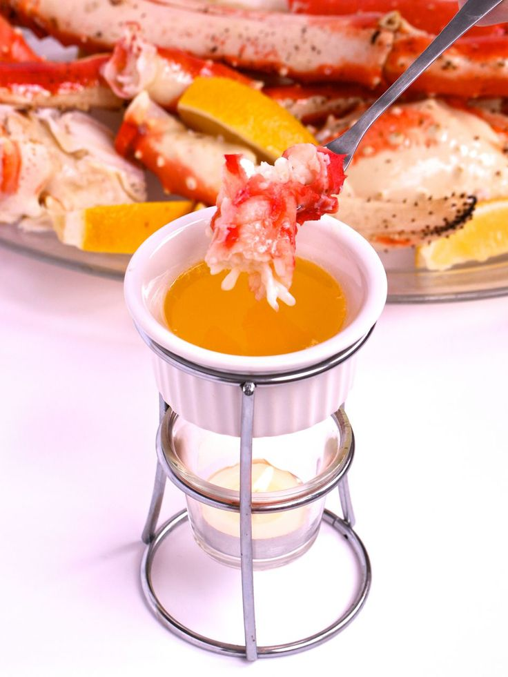 Here's How to Make Drawn Butter, which goes perfectly with King Crab Legs or practically any seafood. It's also delicious drizzled over cooked vegetables!