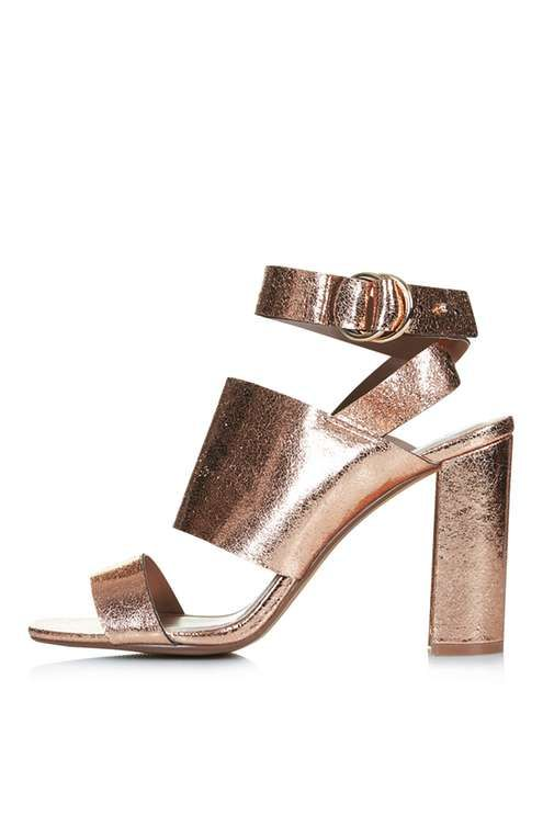 Topshop MONICA Block Heel Sandals