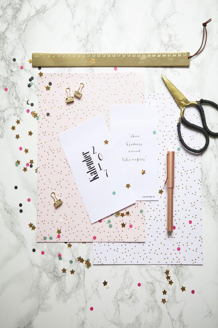 Filofax Kalendereinlagen zum Ausdrucken für 2017 - http://the-mint-elephant.com/filofax-kalendereinlagen-zum-ausdrucken-fuer-2017/1529/ - 1 Week 2 pages, 1 Woche auf 2 Seiten, Anleitung, Basteln, DIY, Filofax, Filofax Personal, Filofaxing, inserts, Kalendereinlagen