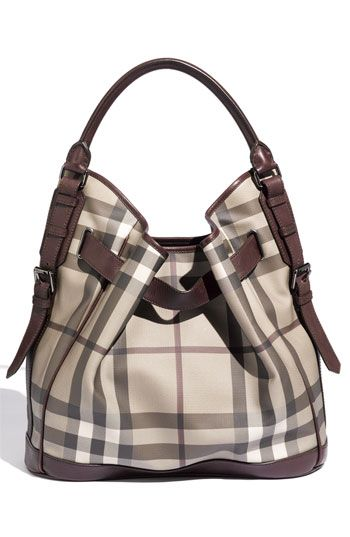 Burberry 'Smoked Check' Hobo | Nordstrom