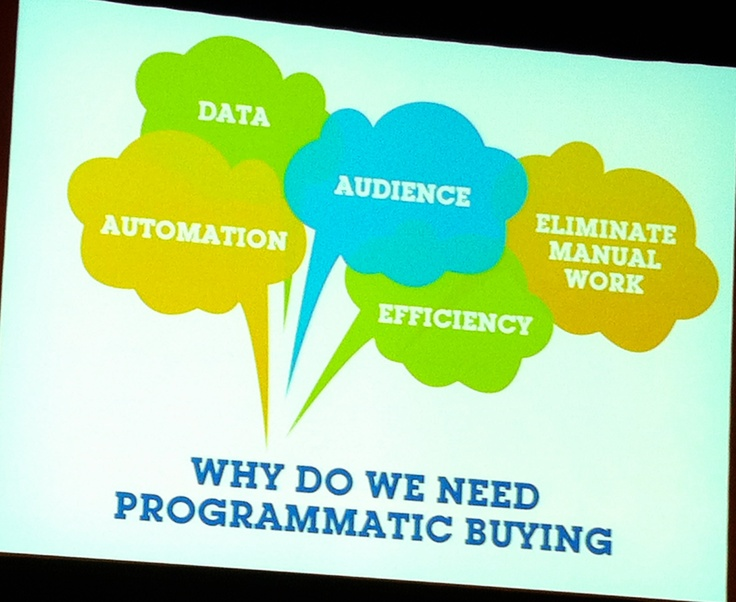 Why do we need programmatic buying? (By Adform)  @ 29.11.2012 IAB Finlands seminar HOT or NOT