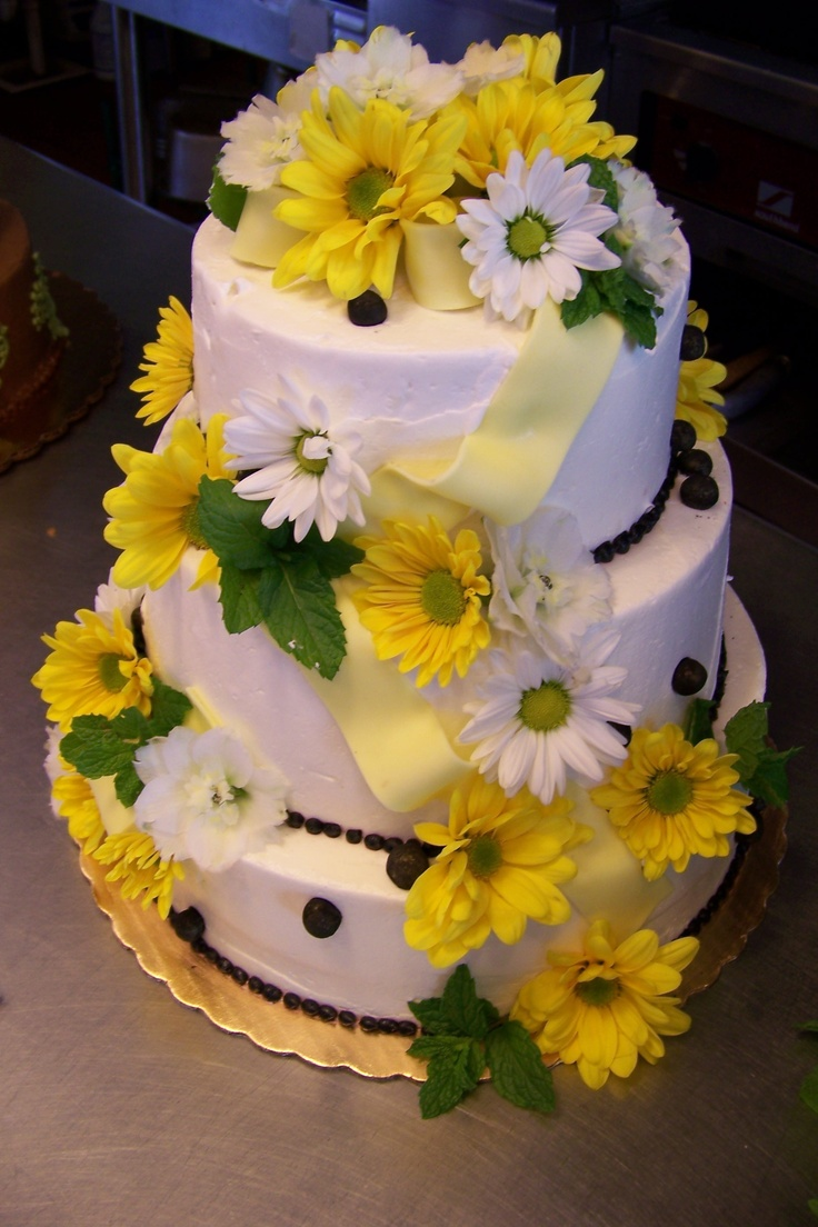 8 best anniversary cakes images on pinterest anniversary cakes fondant ribbon and fresh flowers make a lovely anniversary cake dhlflorist Image collections