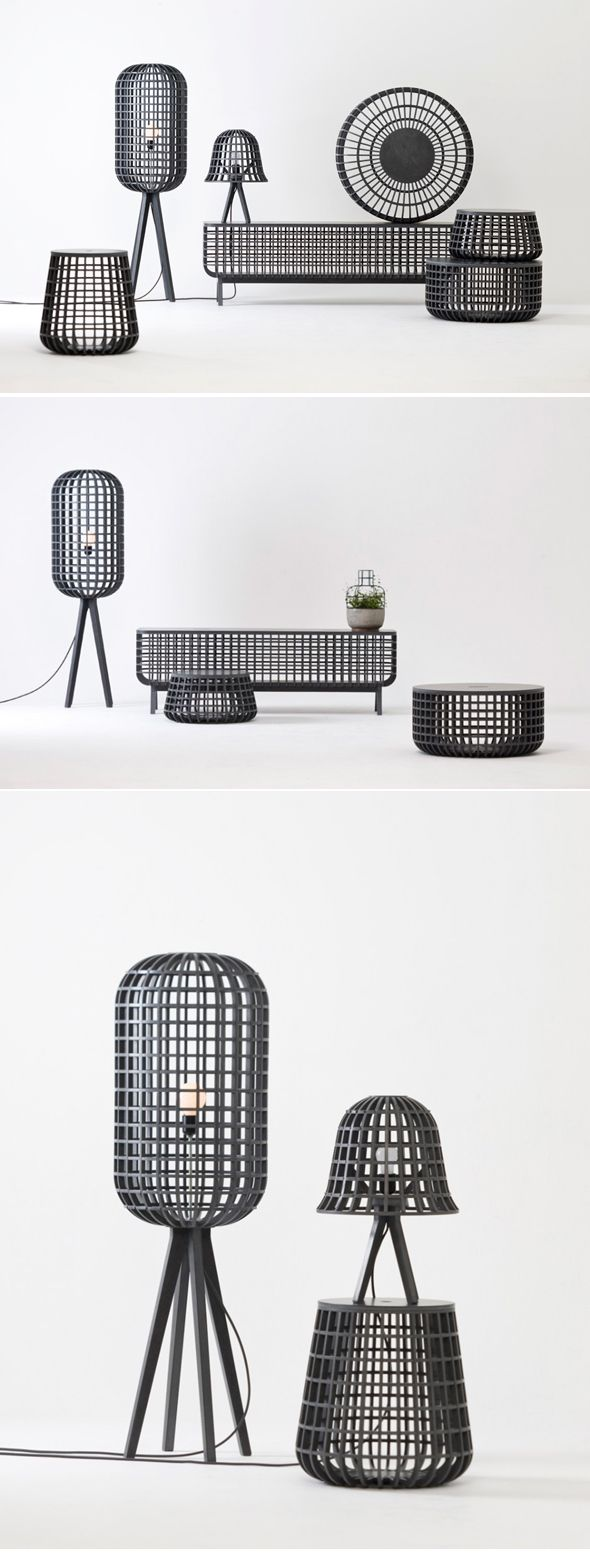 The 'Dami' is named from Korean verb means 'put in'. Dami series are consist of basket forms and covers and available for different and various usage depending on form and size. It shows visual beauty as well as the structure of Korean traditional grille which has light and sturdy durability, and the combination of new eco-friendly materials called Valchromat and CNC processing technique make it possible to materialize modern objet with traditional beauty.