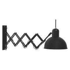 ABERDEEN Black metal extendable wall light