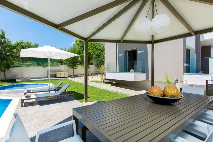 Villa Kastellakia in Rethymno, Crete. #villa #greece #crete #vacationrental #luxury #private #pool #island #design