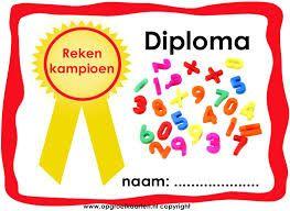 Afbeeldingsresultaat voor diploma maken voor kleuters