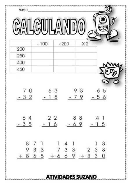 CALCULANDO 2 - Atividades Adriana