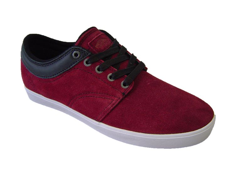 Mens Vans Pacquard Burgundy/White.  £39.99