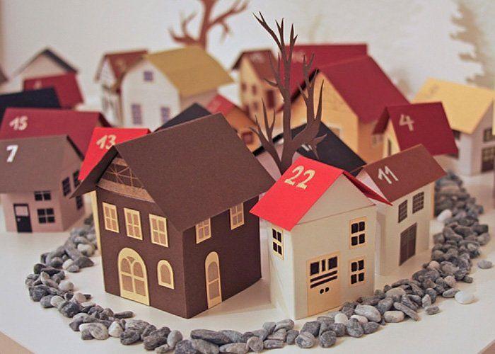 die besten 25 adventskalender dorf ideen auf pinterest frei bedruckbare buchstaben des. Black Bedroom Furniture Sets. Home Design Ideas