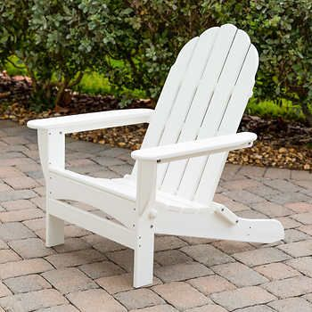 Long Beach Folding Adirondack Chair By Polywood With Images
