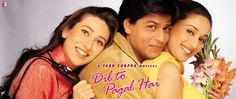 Dil To Pagal Hai All Songs Lyrics with HD Video Download Now Shahrukh Khan Madhuri Dixit Akshay Kumar Karisma Kapoor