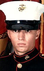 Marine Corps Pfc Geoffery S. Morris. 19, of Gurnee, Illinois. Died April 4, 2004, serving during Operation Iraqi Freedom. Assigned to 2nd Battalion, 4th Marines, 1st Marine Division, I Marine Expeditionary Force, Camp Pendleton, California.Died of injuries sustained when hit by multiple shrapnel fragments during an enemy rocket-propelled grenade and small-arms fire attack near Fallujah, Anbar Province, Iraq.