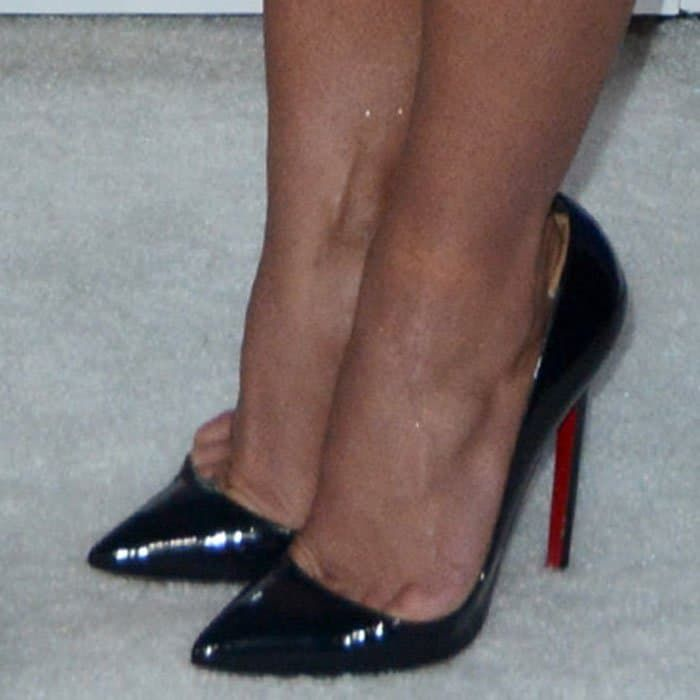 Britney Spears in Christian Louboutin pumps