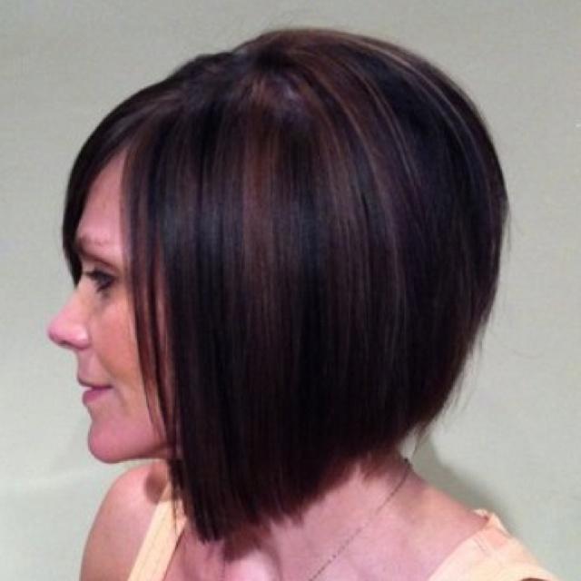 ... highlights/lowlights. | Hair Styles | Pinterest | Inverted Bob, Bobs