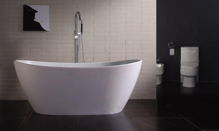UltraJet Wisdom line Salute frittstående helstøpt badekar