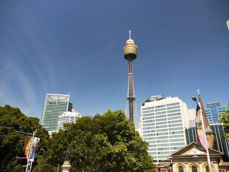 Piękne niebo i #SkyTower w Sydney