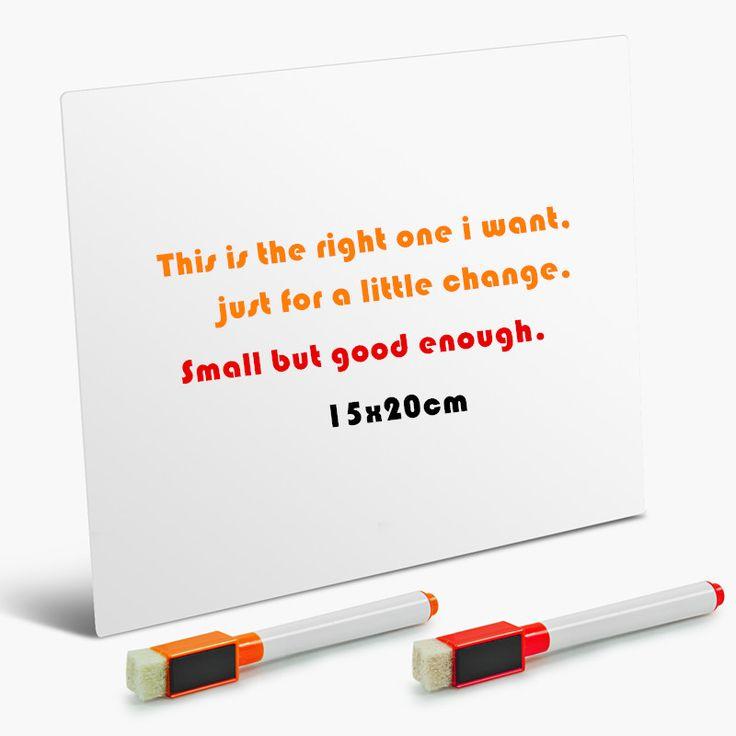 New Type Magnetic Board Soft Message Board Fridge Whiteboard Magnetic White Board for Ferrous Metal Surface School Stationery