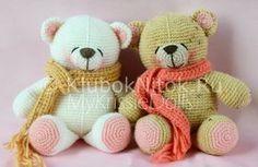 Teddy bear with scarf