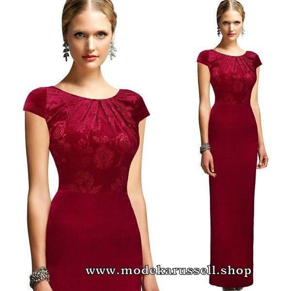 Elegantes Etui Kleid Abendkleid Ulima In Rot Mode Kleid Kleider Fashion 2019 Dress Elegant Ev Elegante Abendkleider Abendkleid Gunstig Elegante Kleider