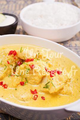 Poisson au curry