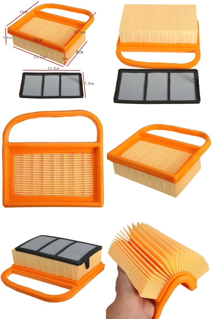 [Visit to Buy] Lawn Mower Air Filter Orange Kit For Stihl TS410 TS420 Concrete Cut Off Chop Saw #Advertisement