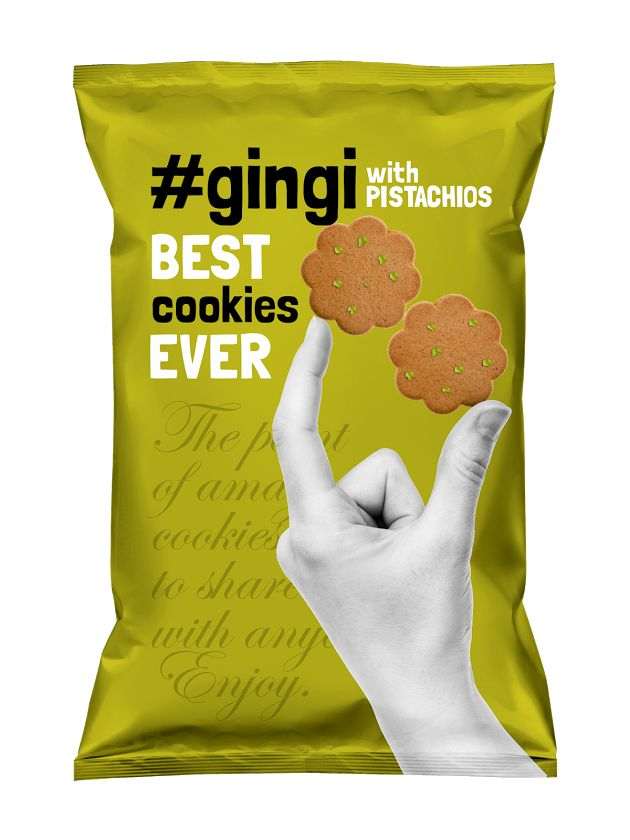 Gingi Cookies on Packaging of the World - Creative Package Design Gallery