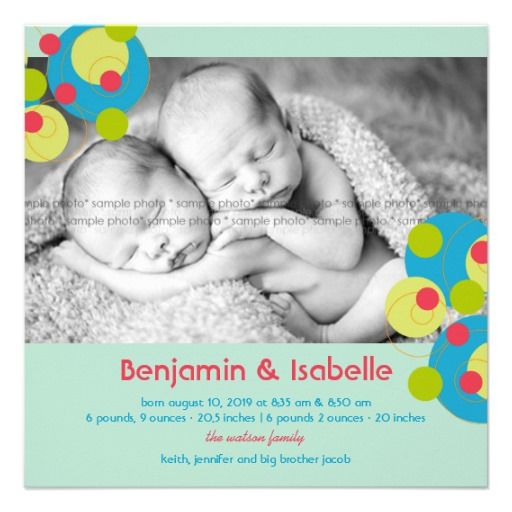 1405 best Baby Boy Birth Announcements images – Sample Baby Announcement