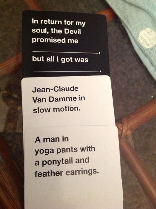 Funny 'Cards Against Humanity' answers (33 photos) – theBERRY