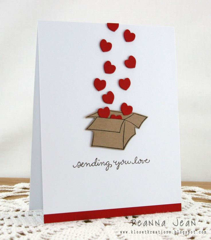 Sending you love - Card