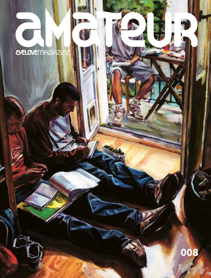 Amateur Magazine 008. Cover artwork by FAFA. This issue contains: FAFA, MEYOKO, JON FOX, ICON 73, KEVIN PETERSON, BLEU NOIR, /AWORD OF ART, ARTACKING BUDAPEST, CARHARTT GALLERY, SKATOPIA, AND MUCH MORE.