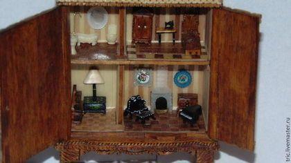 Кукольный дом ручной работы. кукольный домик 1:144. Елена Авдеева. Ярмарка Мастеров. Сувенир ручной работы