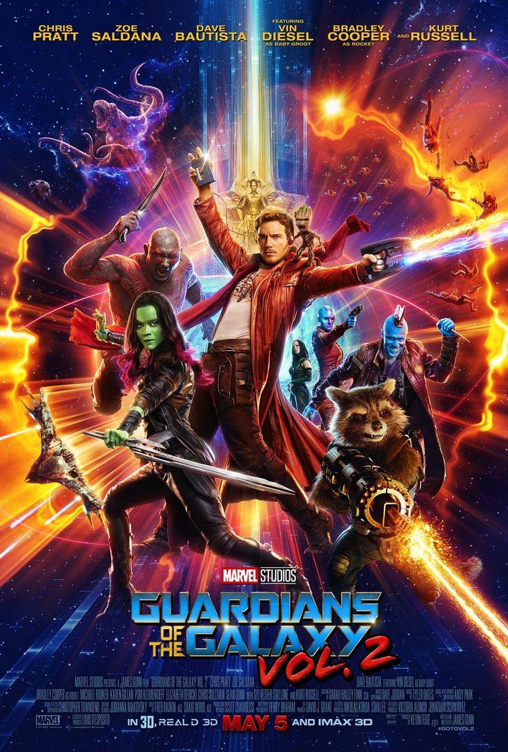 Além do novo trailer, Guardiões da Galáxia Vol. 2, que estreia no Brasil dia 4 de maio, ganhou um novo e colorido cartaz: