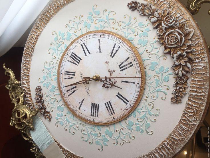 Купить Часы настенные Благородная классика по мотивам - часы, часы настенные…