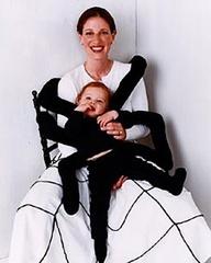 Ragnetto e mamma-tela   http://www.lagravidanza.net/vestiti-da-carnevale-con-il-tuo-bambino.html/ragno-con-tela