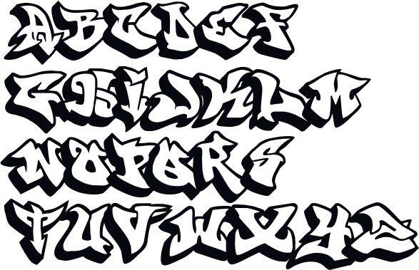 Graffiti Schrift Abc Graffiti Buchstaben A Z 34 Graffiti Buchstaben Graffiti Schrift Graffiti Alphabet