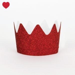 Rode-glitter-kroontjes. Super cute toch?