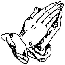 Image result for free silhouette clip art praying hands