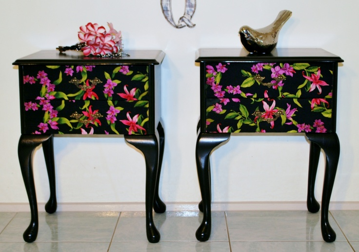 Upcycled Bedroom Tables