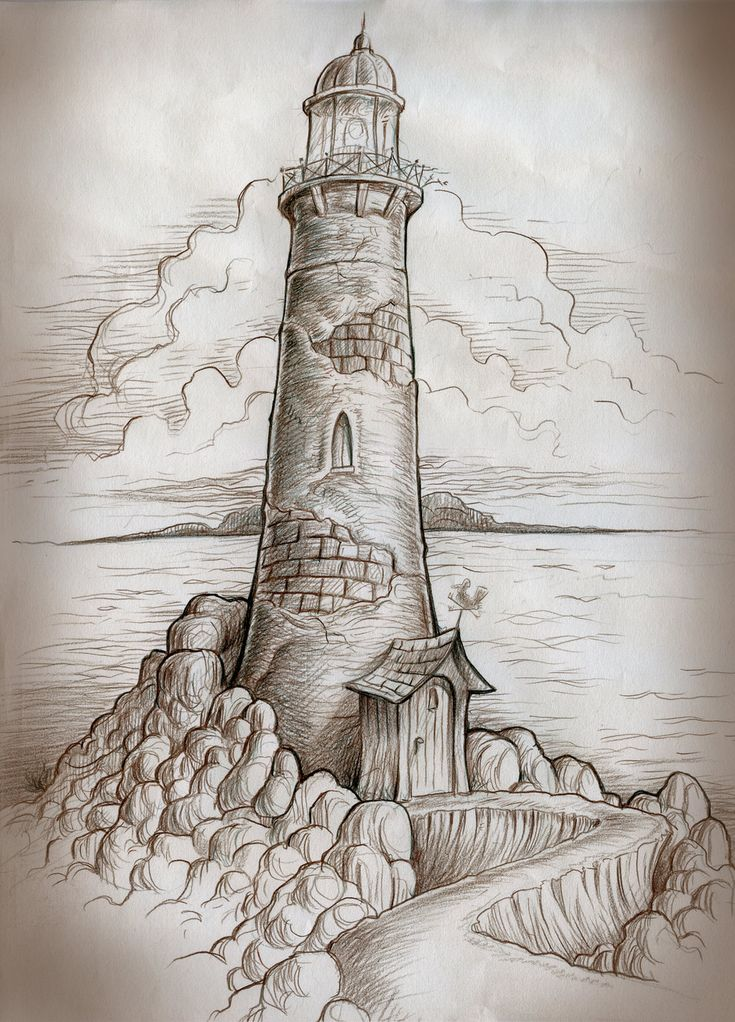 Lighthouse Path by MJBivouac.deviantart.com on @deviantART