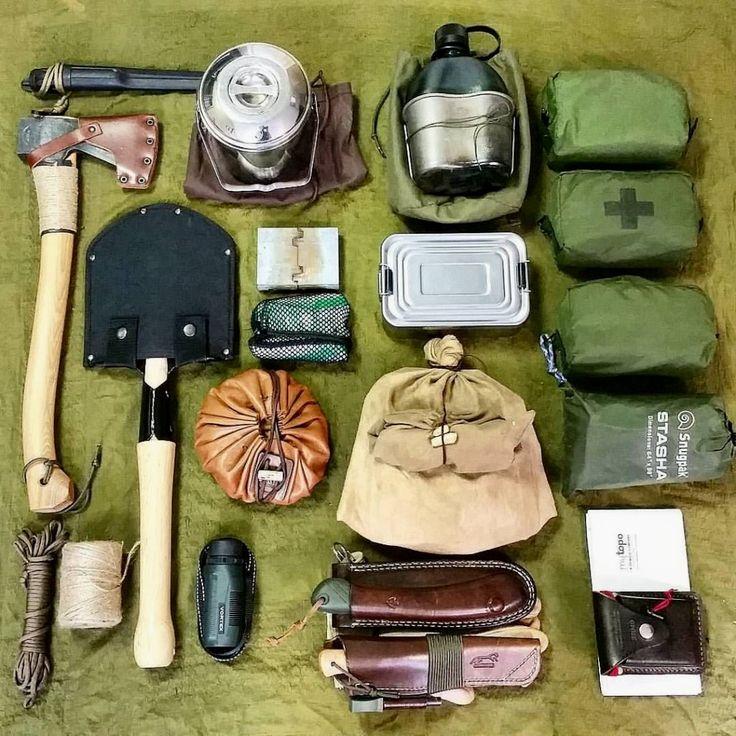 вопрос снаряжение для выживания в лесу фото был