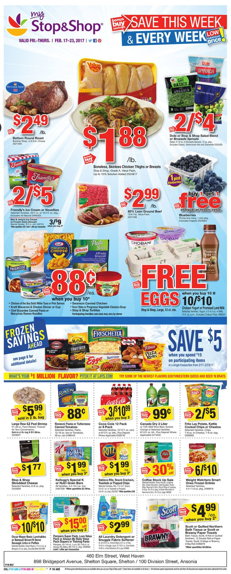 Stop and Shop Circular February 17 - 23, 2017 - http://www.olcatalog.com/grocery/stop-and-shop-circular.html