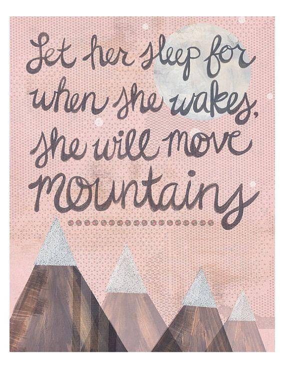 move mountains / print