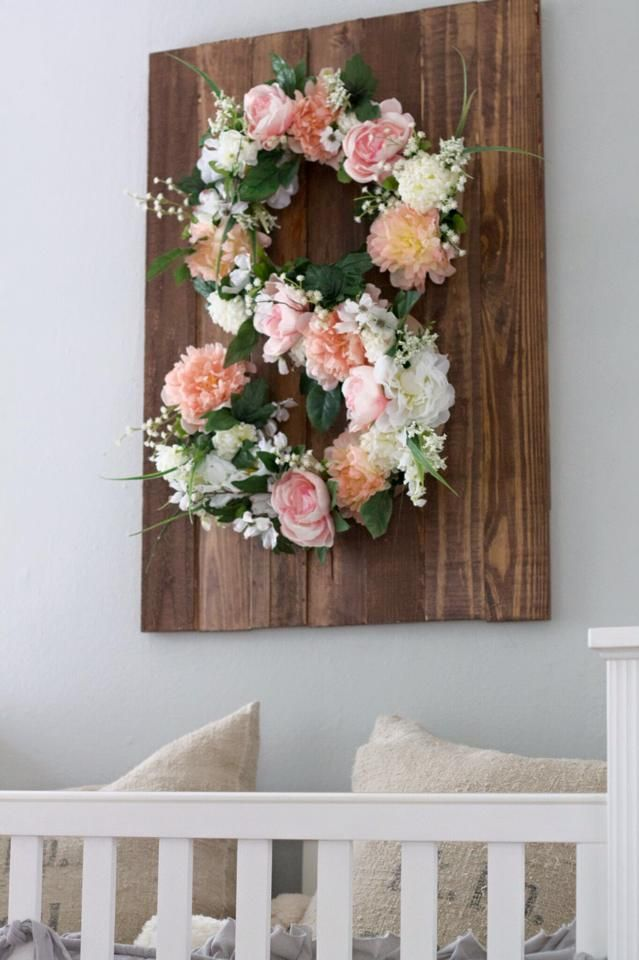 DIY Floral Monogram on Southern Girl City Mom