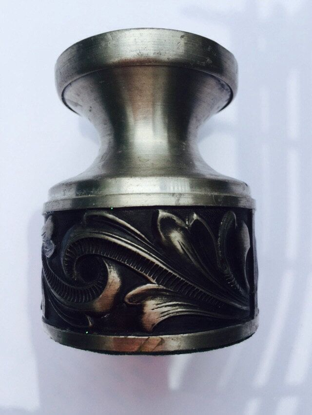 Vintage Mid Century Pewter Candleholder by VintageVixens1 on Etsy