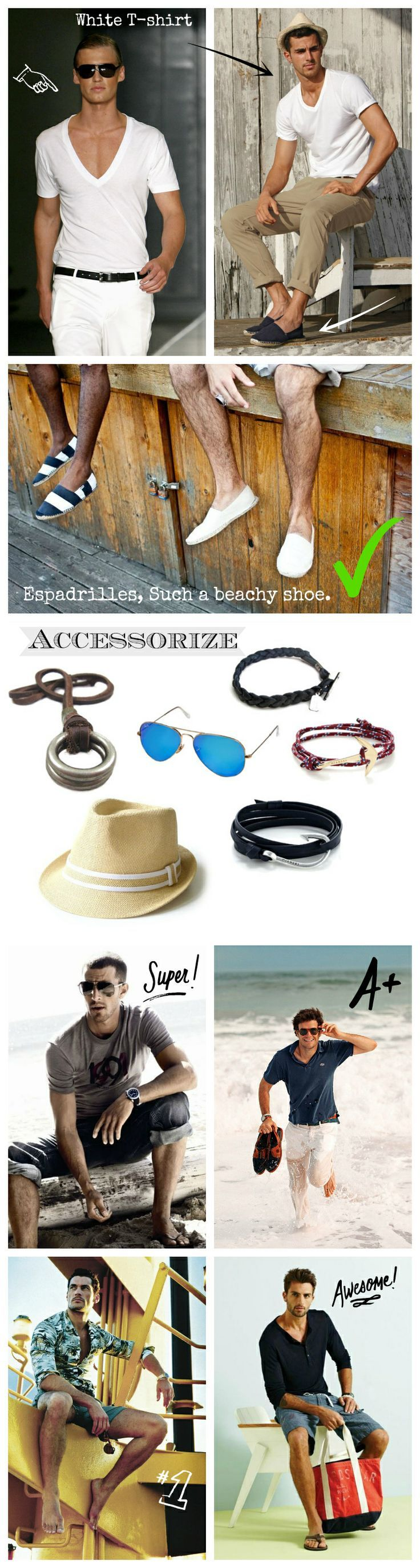 What to dress on your next Beach Vacation. Here we are going to give you some tips of what clothes and accessories to wear when you are traveling to a beach.