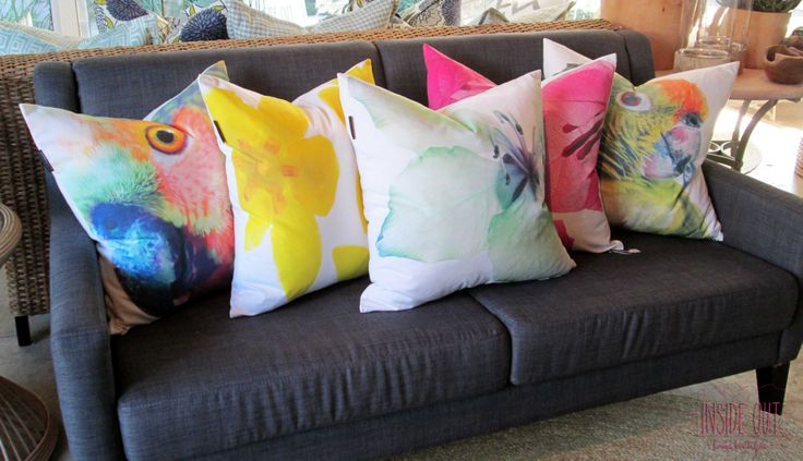 Our new Clinton Friedman scatter cushions - Inside Out Home Boutique