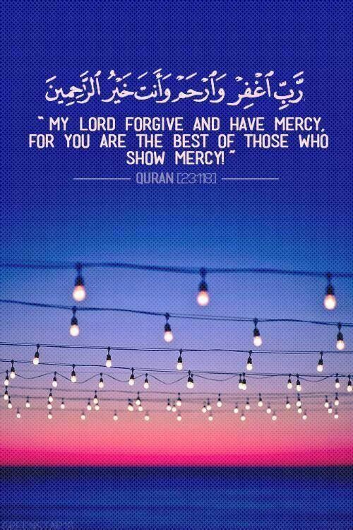 Ya ALLAH, plead forgive us. Amin ya Rabbi